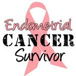 Endometrial Cancer Survivor T-Shirts