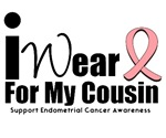 Endometrial Cancer (Cousin) T-Shirts