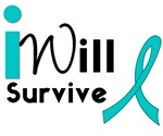 I Will Survive Cervical Cancer Awareness T-Shirts