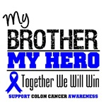 Colon Cancer Hero Brother Shirts & Gifts