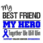 Colon Cancer Hero Best Friend Shirts & Gifts