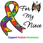 Autism Support Niece Shirts & Gifts