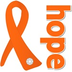 Hope Ribbon Multiple Sclerosis