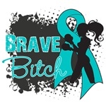 Ovarian Cancer - Brave Bitch Shirts