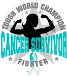 Cervical Cancer Tough Survivor Shirts