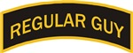 Regular Guy military style tab