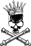 ARTILLERY SKULL - KING OF BATTLE