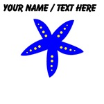 Custom Blue Starfish