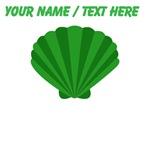 Custom Green Oyster Shell