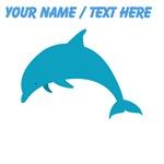 Custom Blue Dolphin