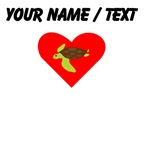 Cartoon Sea Turtle Heart