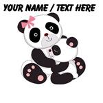 Custom Panda Baby And Mother
