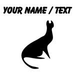 Custom Cat Silhouette