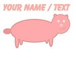 Custom Pink Pig
