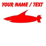 Custom Red Shark