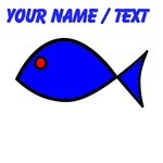 Custom Blue Fish