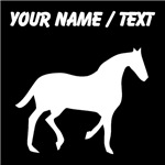 Custom Horse Silhouette
