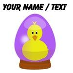 Custom Chick In Snowglobe
