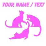 Custom Pink Cats
