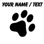 Custom Cat Paw Print