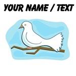 Custom White Dove