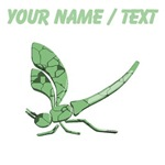 Custom Glass Dragonfly