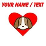Custom Puppy Heart