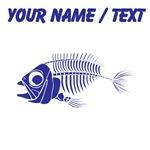 Custom Blue Boney Fish