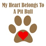 My Heart Belongs To A Pit Bull