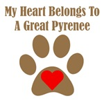 My Heart Belongs To A Great Pyrenee