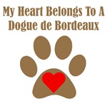 My Heart Belongs To A Dogue de Bordeaux