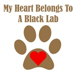 My Heart Belongs To A Black Lab
