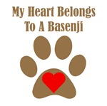 My Heart Belongs To A Basenji