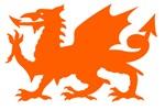 Orange Gargoyle Dragon