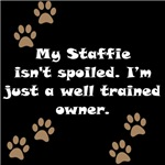 Well Trained Staffie Owner