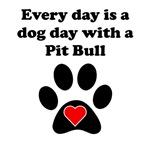 Pit Bull Dog Day