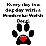 Pembroke Welsh Corgi Dog Day