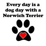 Norwich Terrier Dog Day