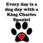 King Charles Spaniel Dog Day