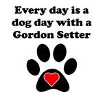 Gordon Setter Dog Day