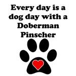 Doberman Pinscher Dog Day