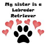 My Sister Is A Labrador Retriever