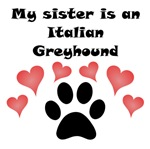 My Sister Is An Italian Greyhound