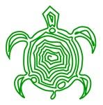Green Turtle Art