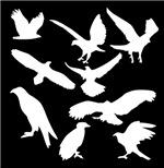 White Eagles Silhouette