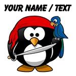 Custom Pirate Penguin