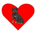 Rottweiler Heart