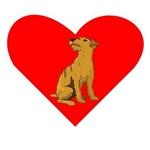 Soft Coated Wheaten Terrier Heart