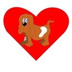 Basset Hound Heart