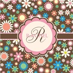 Personalized Name Flower Pattern
